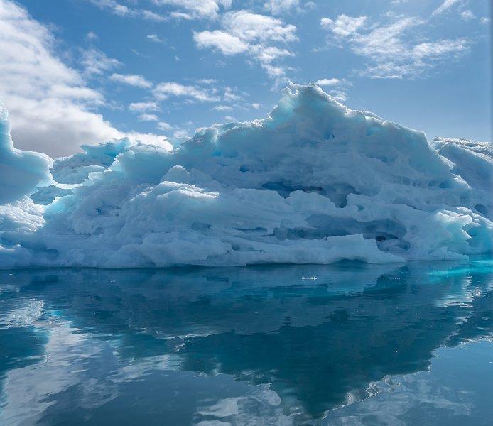 Cool Blue Berg