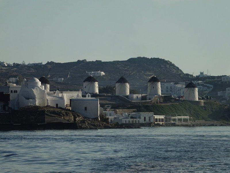 Mykonis Windmills