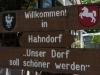 Handorf  Welcome Sign