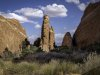 Fins-looking-to La Sal Mountains