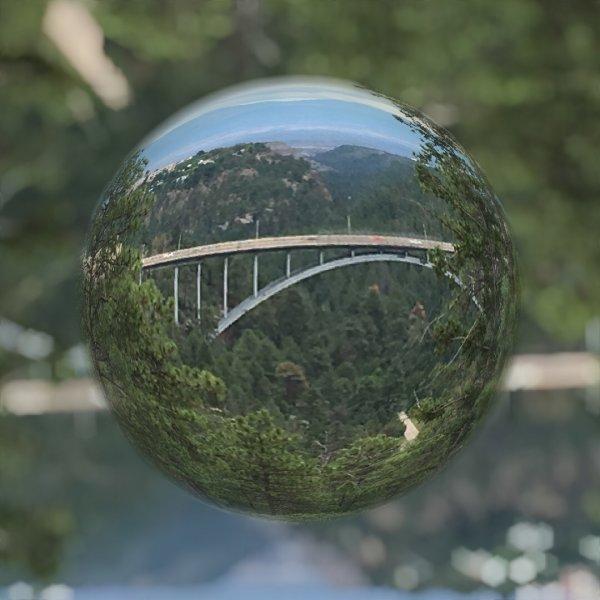 Bridge in Marble