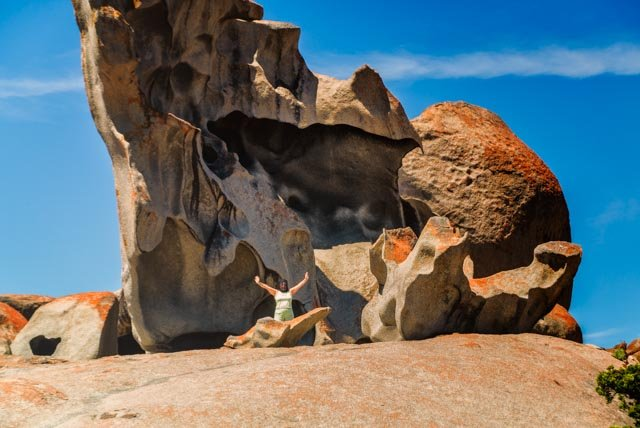 Remarkable Rocks Louise