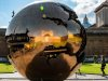 Giant Fractured Sphere at the Vatican.
