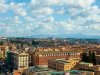 View of Rome from upper level of Vatican