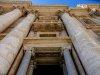 Looking up into Vatican window