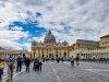 Looking towards St Peters through Piazza Navona