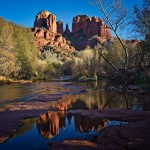 Catherdral Rock Sunset Sedona AZ