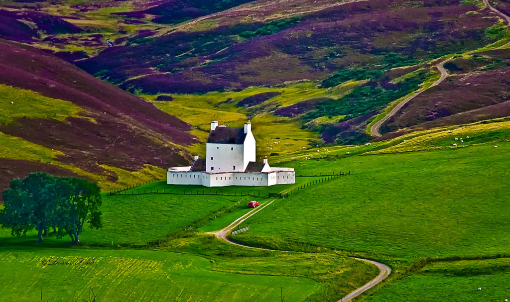 Corgraff Castle Scotland Highlands