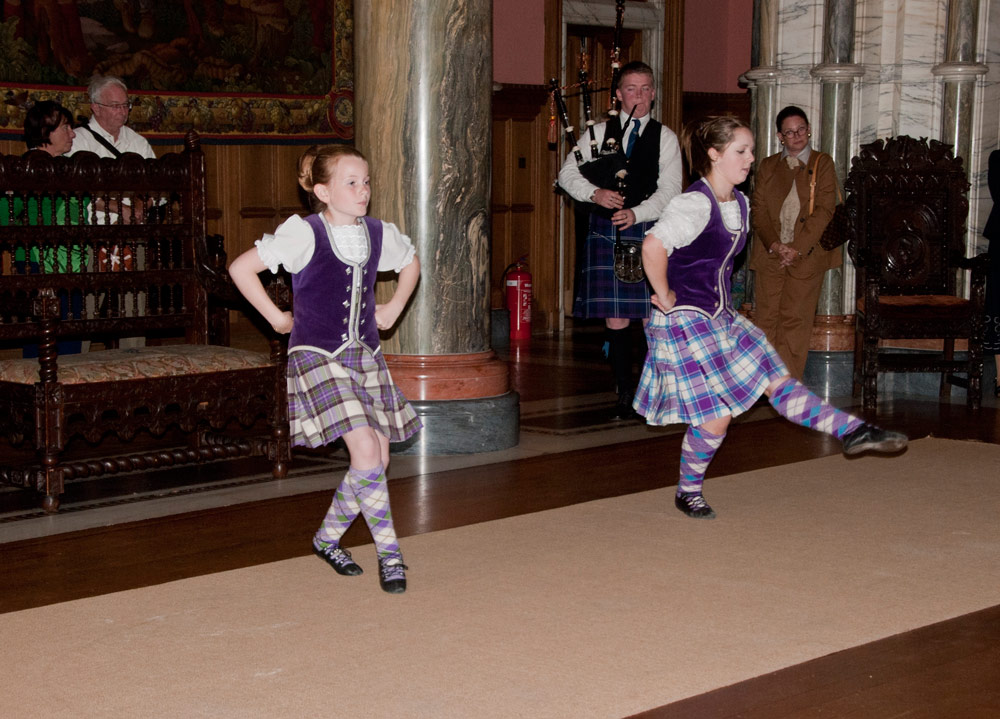 Mount Stuart Scottish Dancing