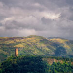 Stirling Castle view towads Robert Bruce Monument