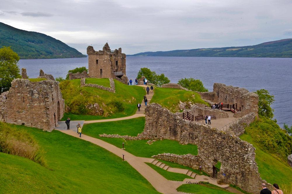 Urquhart Castle Scotland Loch Ness