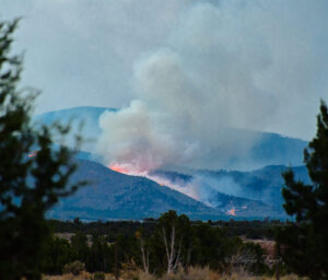 Fire in the Mountains Los Alamos