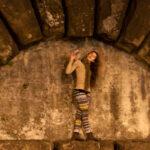 Posing in Florence