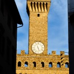 Bell Tower in Plazza Vecchio, Florence Italy