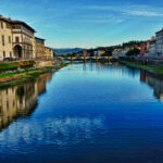Arno River looking towards the