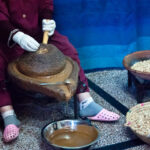 The historical way of obtaining Argan oil