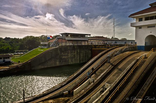 Panama Canal Gatun Lock