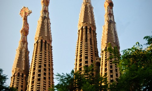 Sagrada-Familia-towers