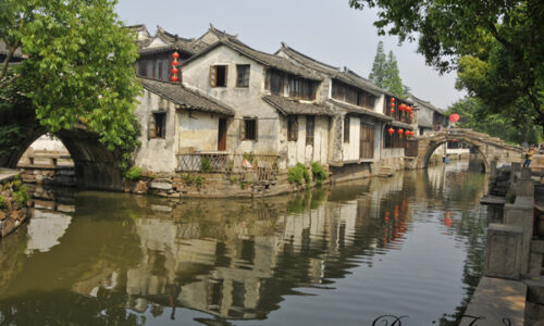 two-bridges-in-Souzhou
