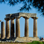 Ancient-Greek-Temple-in-Corinth