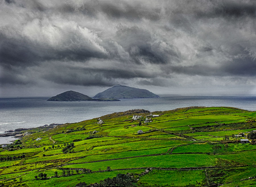 The two Skellig Islands