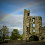 Rainbow over Mellifont Abbey