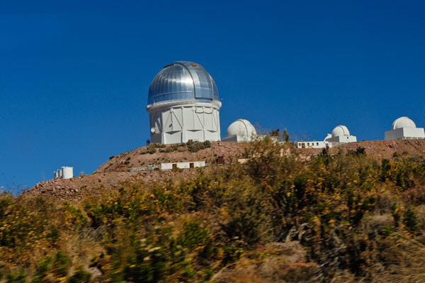 Cerro Tololo-Observatory located high in the mountains of Chile