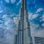 Burj Khalifa during the day