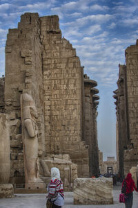 Entrance to Karnak Temple