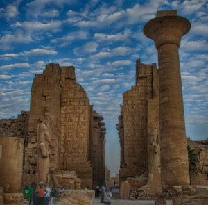 Second Pylon in Karnak Temple