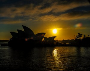 Sydney Opera House at Sunrise