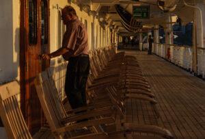 Sunrise on the Ship