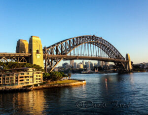 Sydney Harbor Bridge at Sunrise