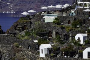 Houses on Cliffside